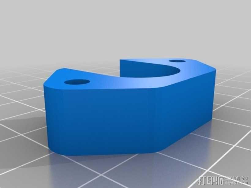 j_Head 喷头支架 3D模型  图3