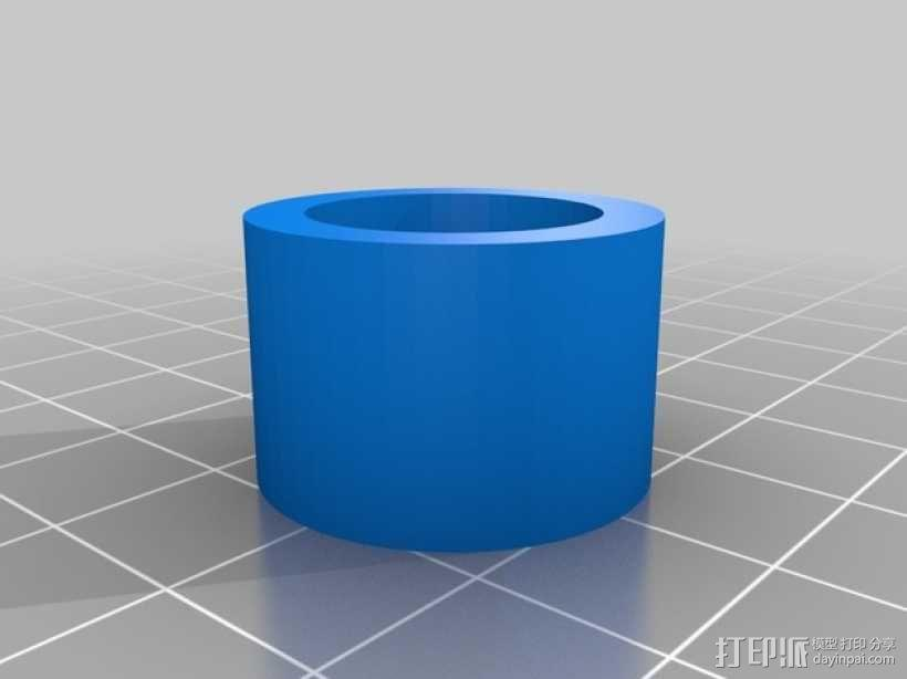 j_Head 喷头支架 3D模型  图5