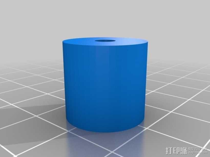 j_Head 喷头支架 3D模型  图4
