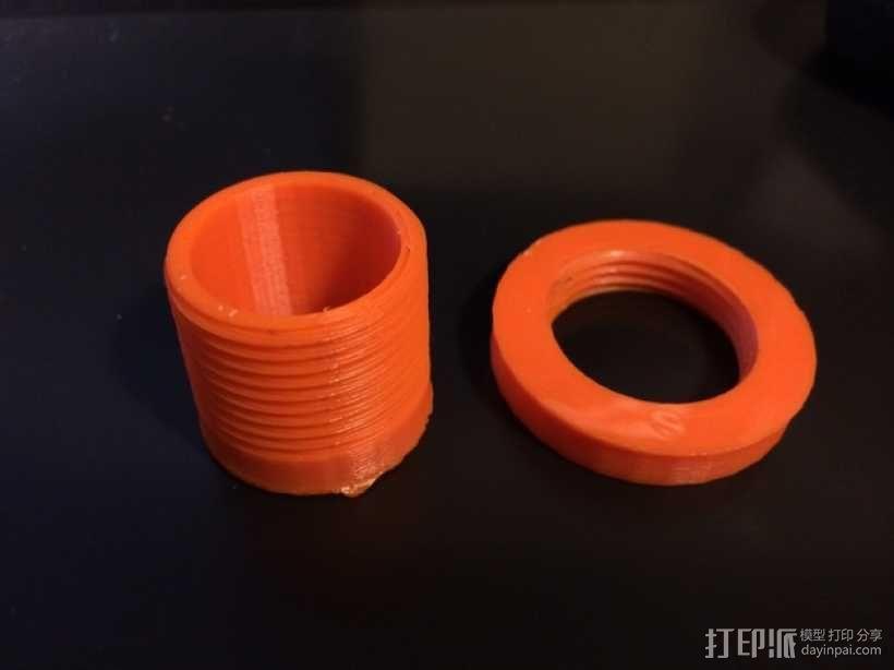 丝锥和板牙 3D模型  图1