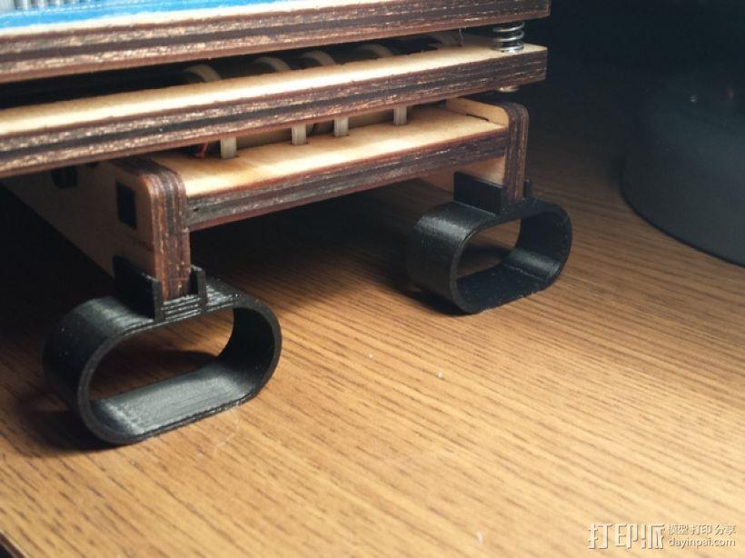 Printrbot Simple打印机的防震器 3D模型  图1