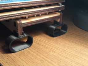 Printrbot Simple打印机的防震器 3D模型