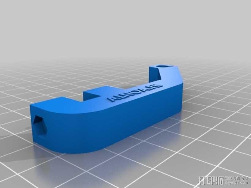 电缆收纳器 3D模型  图2