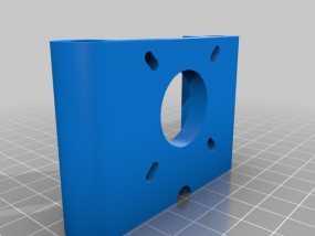 马达支架 3D模型