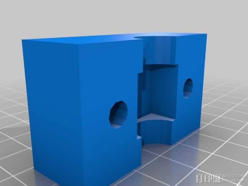 螺母 3D模型  图2