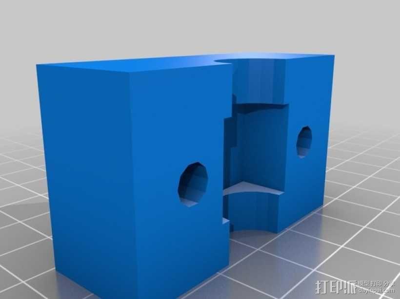 螺母 3D模型  图3