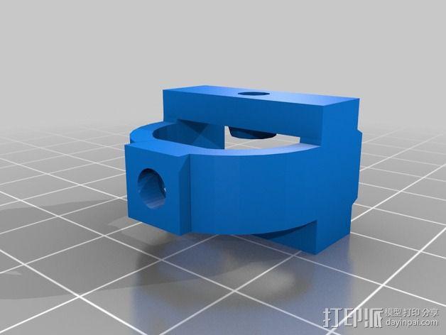 拉紧器 3D模型  图2