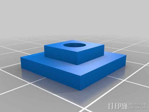 拉紧器 3D模型  图3