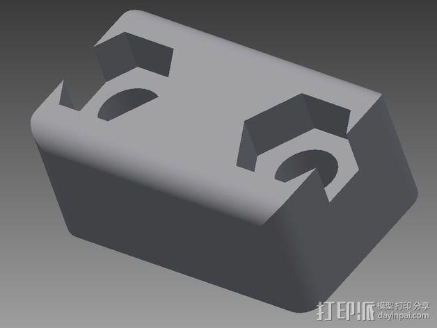 夹子 3D模型  图3