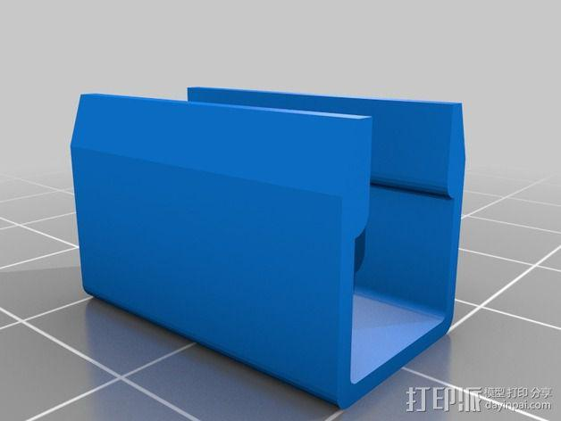 夹子 3D模型  图2