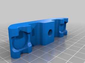 垂直面板适配器 3D模型