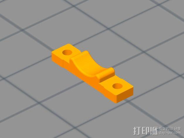 挤出器 3D模型  图7