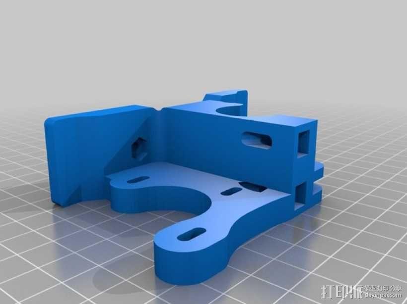 挤压器 3D模型  图3