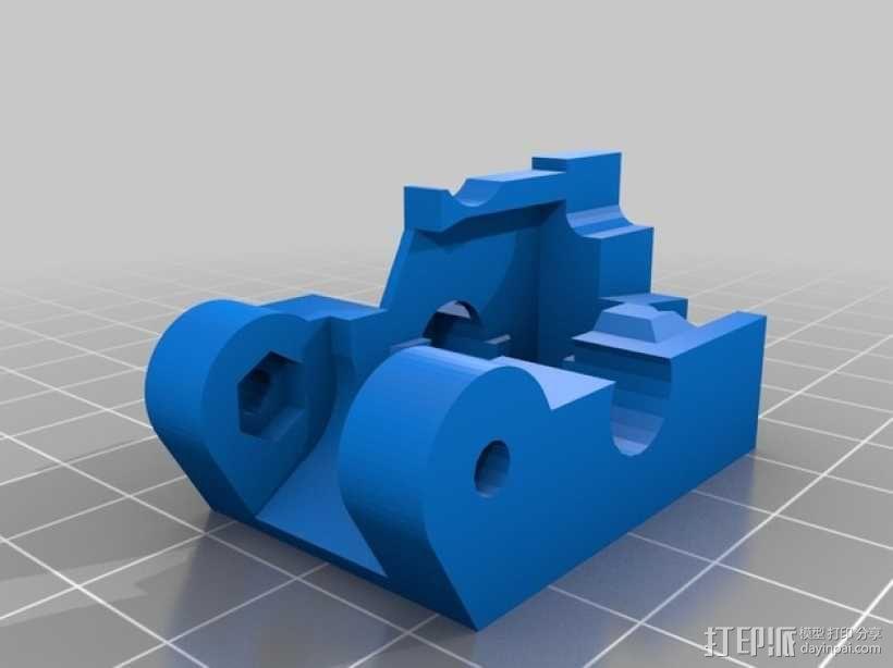 挤压器 3D模型  图2