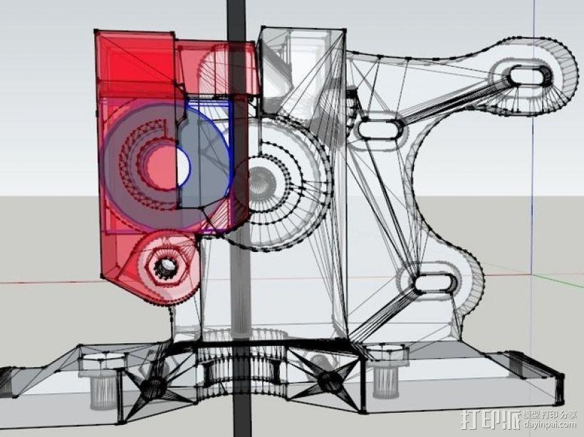 挤压器 3D模型  图5