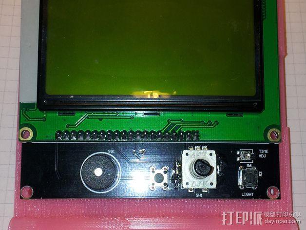 LCD适配器 3D模型  图4