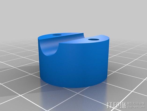 LCD适配器 3D模型  图6