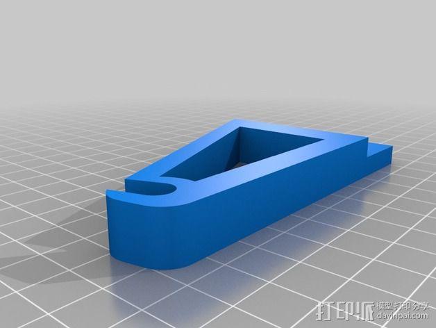 线轴架 3D模型  图4