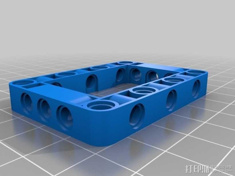 乐高发动机 3D模型  图1