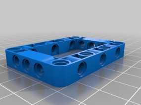 乐高发动机 3D模型