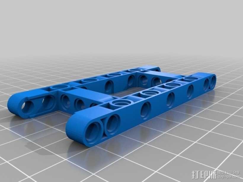 乐高汽车 3D模型  图1