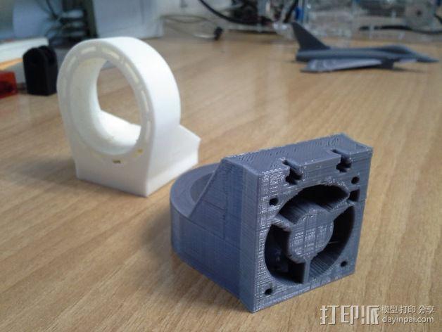 冷却风扇 3D模型  图2