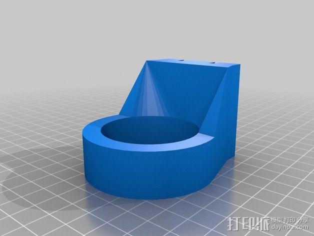 冷却风扇 3D模型  图3