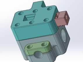 拉紧器 3D模型