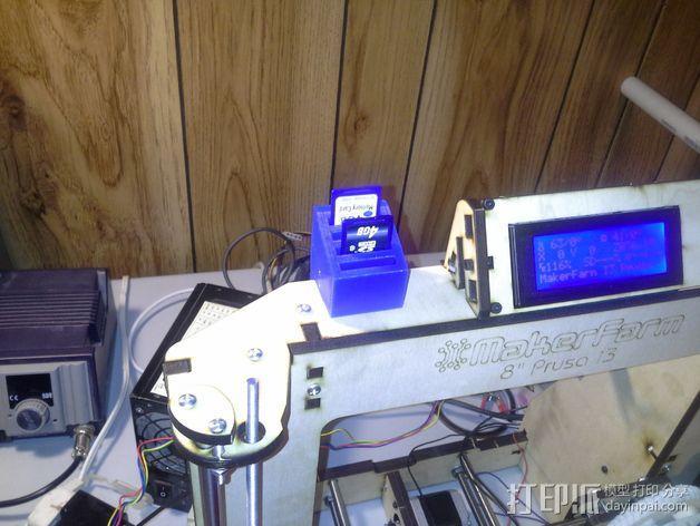SD卡收纳器 3D模型  图3