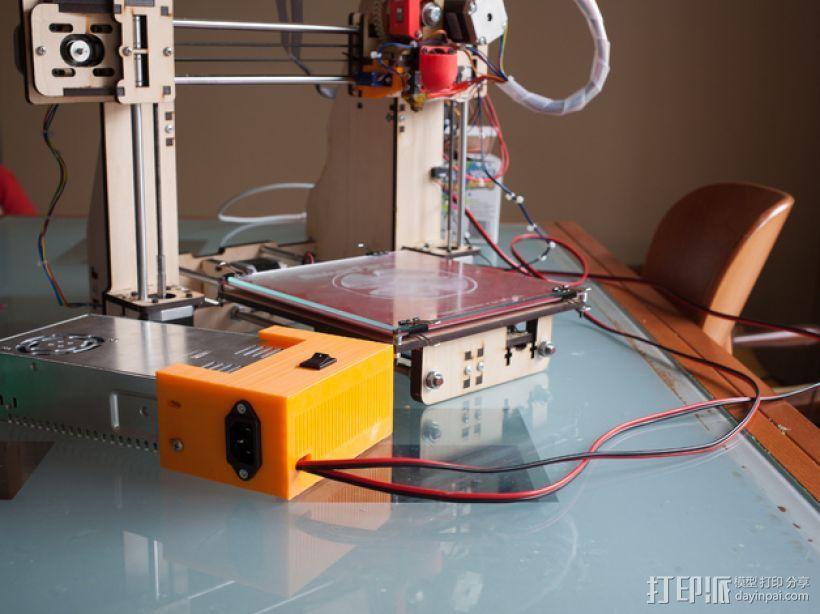 Prusa i3替换电源 3D模型  图2