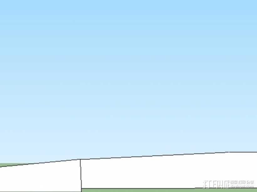 机床刮刀 3D模型  图3