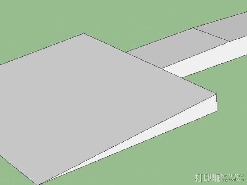 机床刮刀 3D模型  图2