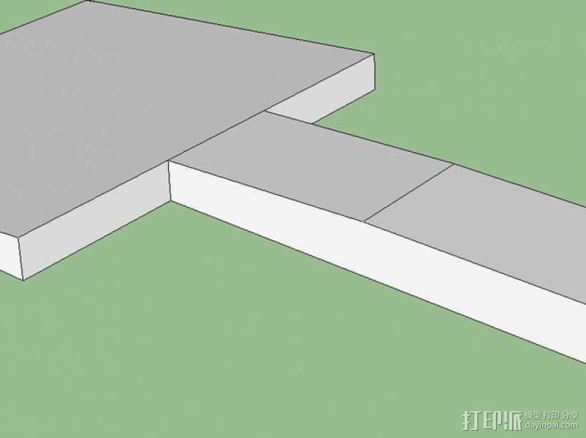 机床刮刀 3D模型  图4