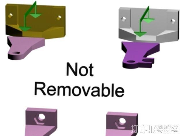 支撑杆 3D模型  图4