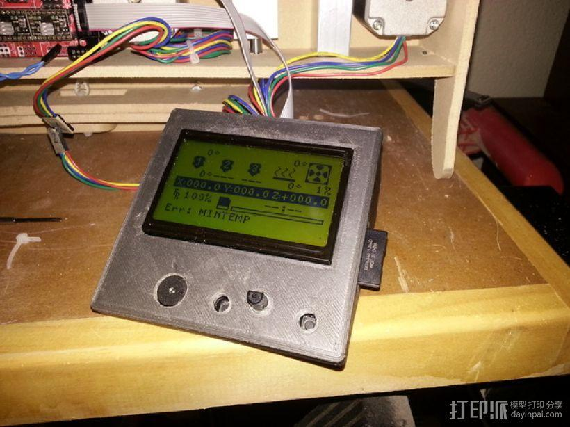 控制面板 3D模型  图1