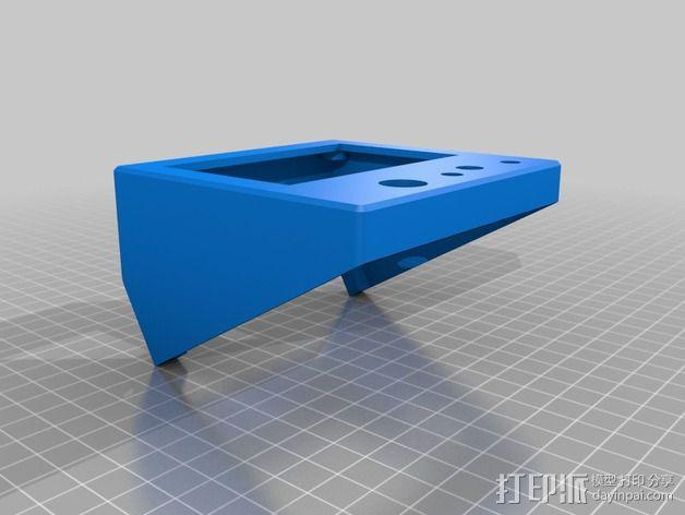 控制面板 3D模型  图2
