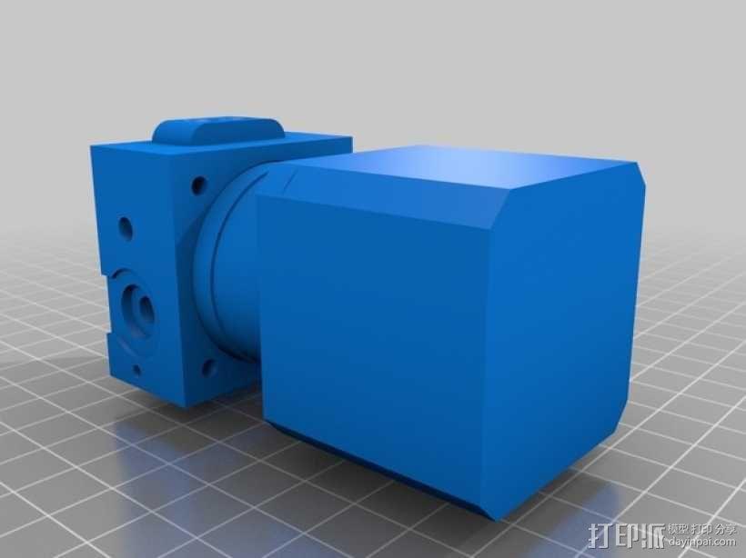 挤出机模型 3D模型  图1
