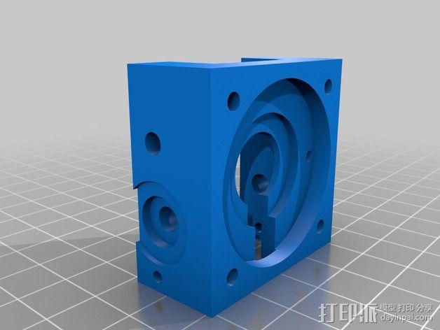 挤出机模型 3D模型  图2