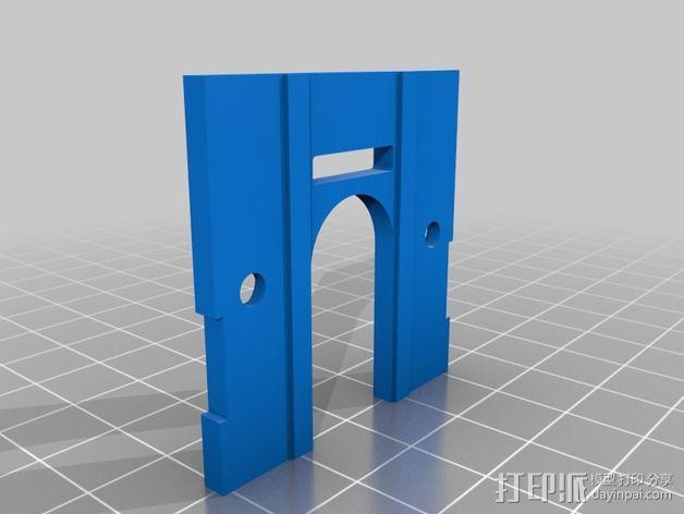 挤出机模型 3D模型  图3
