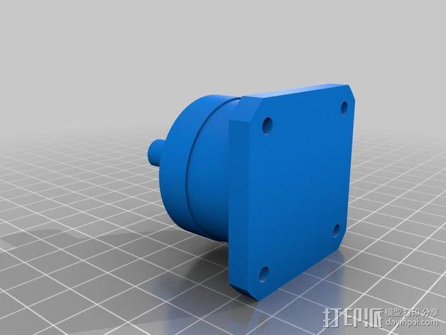 挤出机模型 3D模型  图6