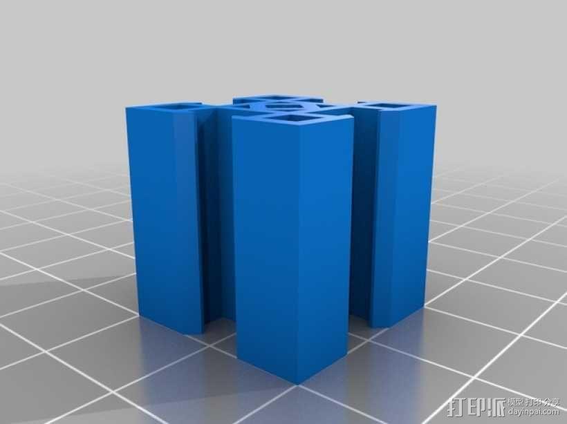 3D打印机框架 3D模型  图4