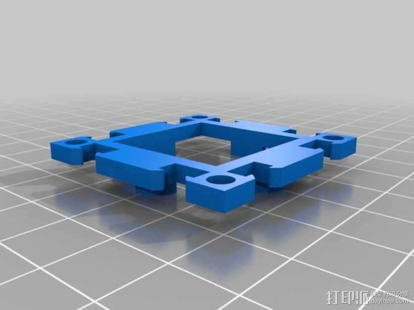 3D打印机框架 3D模型  图3