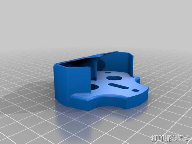 挤压器挂载 3D模型  图2
