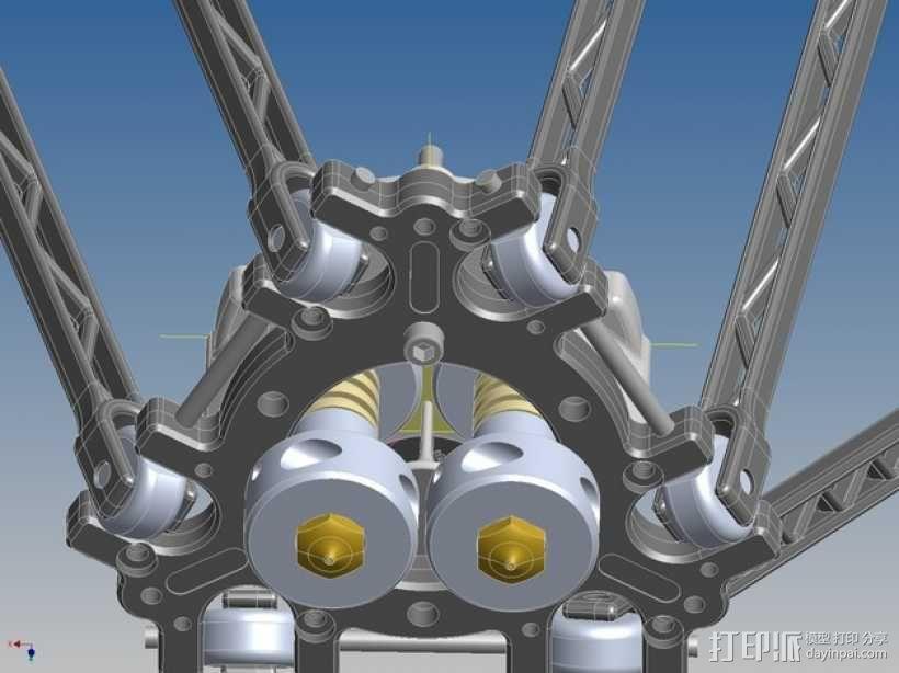 挤压器挂载 3D模型  图6