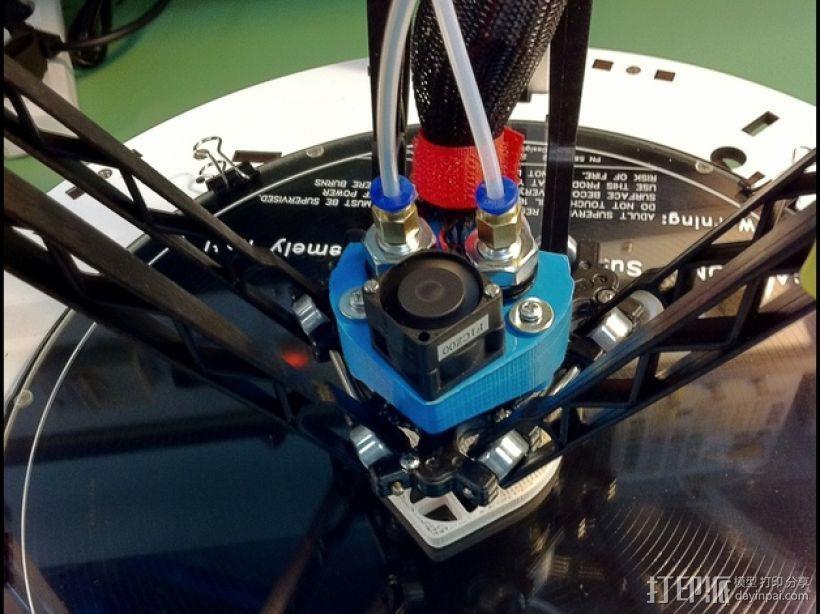 挤压器挂载 3D模型  图7