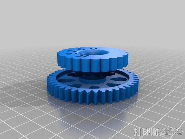 车轮 3D模型  图2