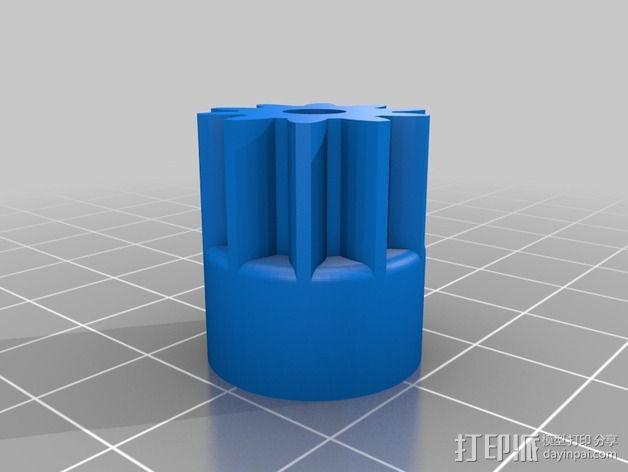 车轮 3D模型  图3