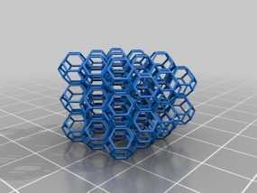 蜂巢 3D模型