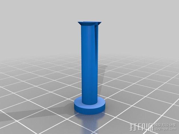 通用线轴架 3D模型  图3