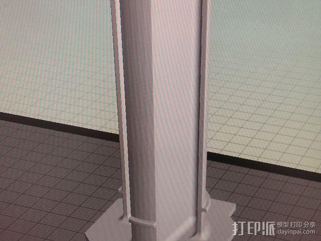线轴 3D模型  图6